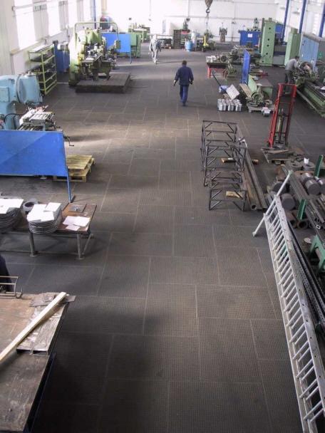 Werkstattboden Typ HALLEN-GROUND