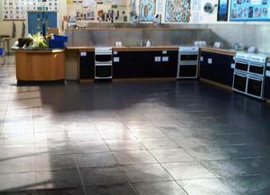 Fußboden Fliesen Werkstatt ~ Pvc bodenfliesen werkstatt bodenfliesen garage streichen fur