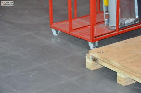 Neu Der widerstandsfähige PVC-Werkstattboden CP24